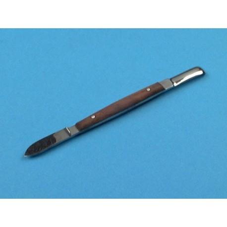 Couteau a cire, lessmann, 13 cm