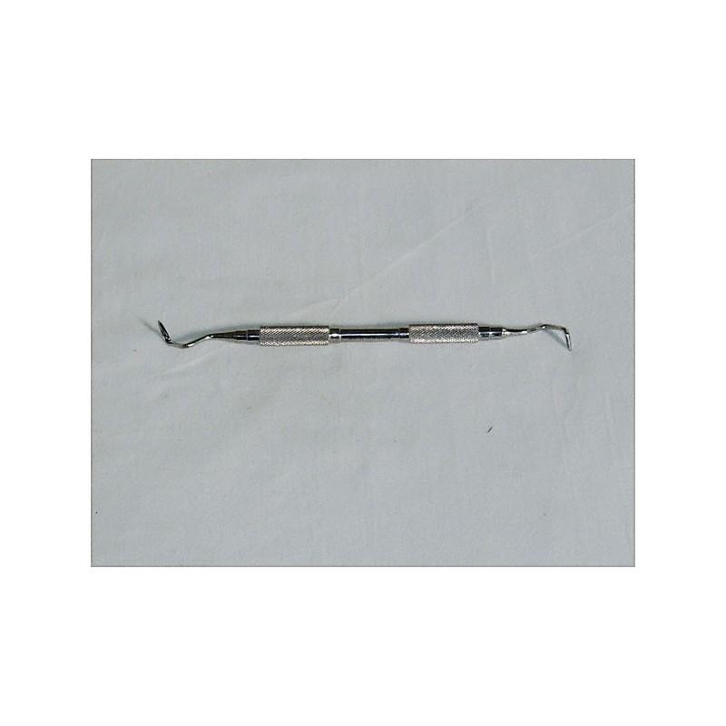 Bistouri double pour gingivectomie, 17 cm