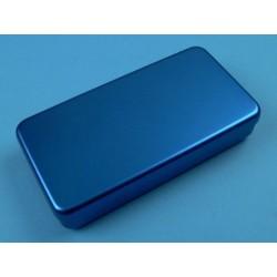 Boîte aluminium, 17 x 7 x 3 cm, colorée