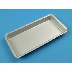 Plateau aluminium, 20 x 10 cm