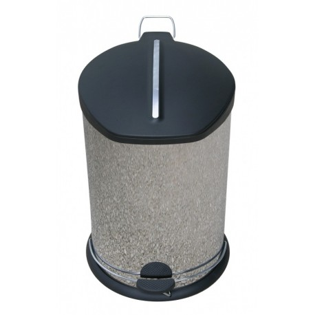 poubelle p dale inox 20 litres medica services fr. Black Bedroom Furniture Sets. Home Design Ideas