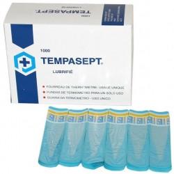 Couvre-thermometre electronique tempasept, lubrifie, boite de 1000