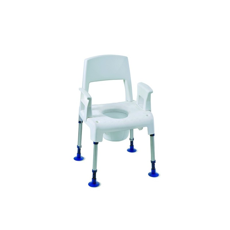Chaise de douche chaise de douche perc e aquatec pico commode materiel medical materiel - Chaise de douche aquatec ...