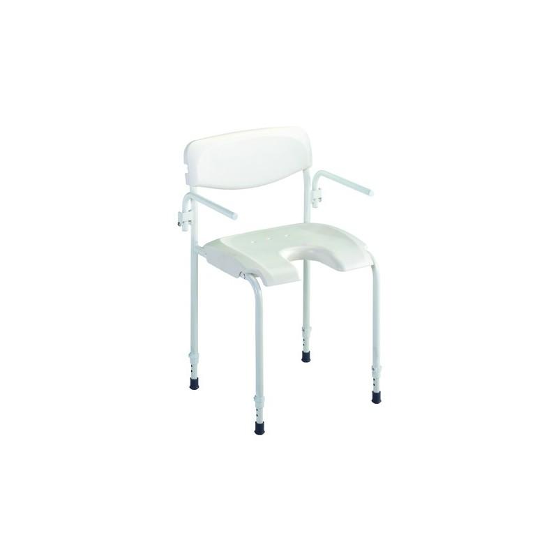 chaise de douche mobile aquatec alize invacare materiel medical materiel medical http. Black Bedroom Furniture Sets. Home Design Ideas
