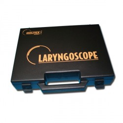 Coffret noir vide avec mousse pour Laryngoscope standard