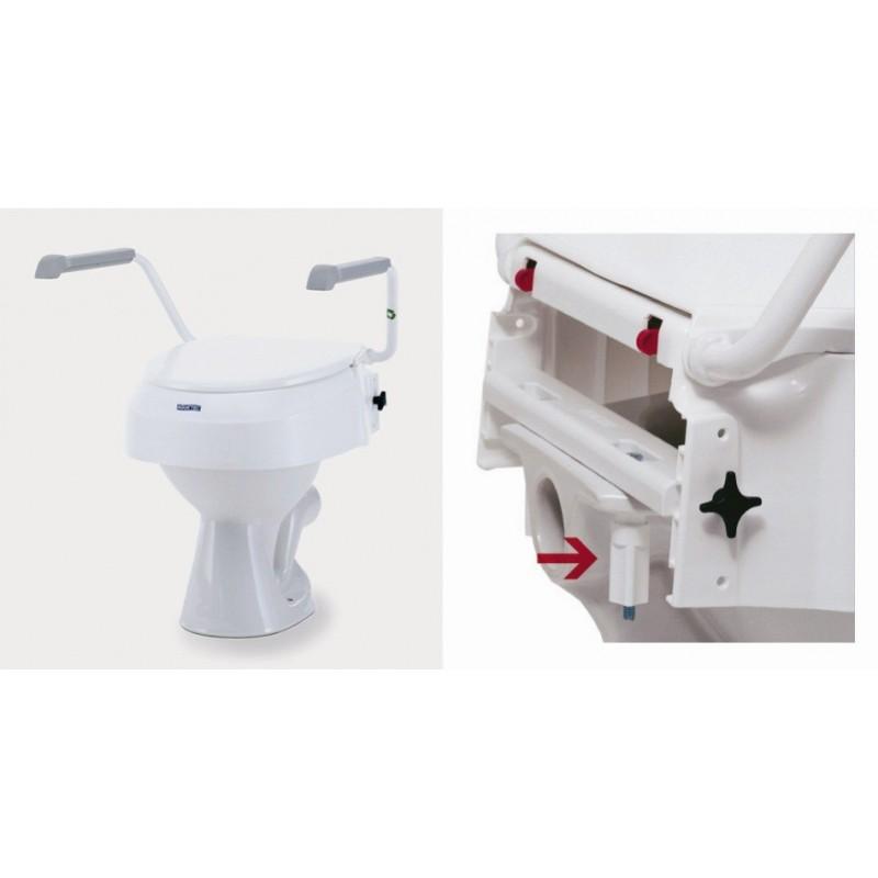 rehausseur wc aquatec at900 invacare materiel medical medica services. Black Bedroom Furniture Sets. Home Design Ideas