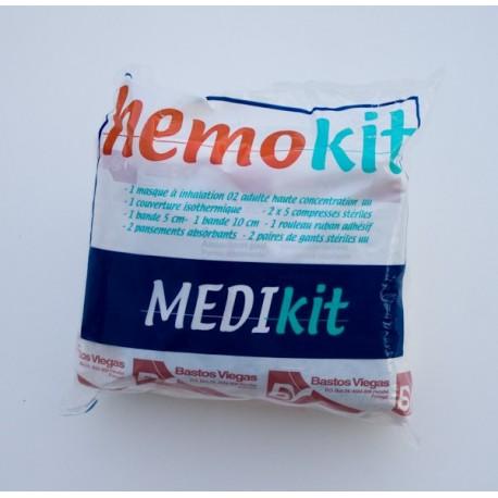 hemokit kit de secours pour h moragie importante. Black Bedroom Furniture Sets. Home Design Ideas
