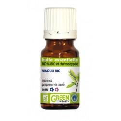 Huile essentielle de niaouli Bio - Green For Health