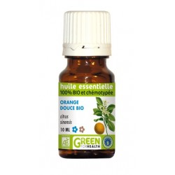 Huile essentielle d'orange douce Bio - Green For Health