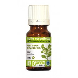 Huile essentielle de petit grain bigarade Bio - Green For Health