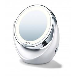 Miroir cosm tique miroir loupe loupe miroir clair for Beurer miroir lumineux bs49