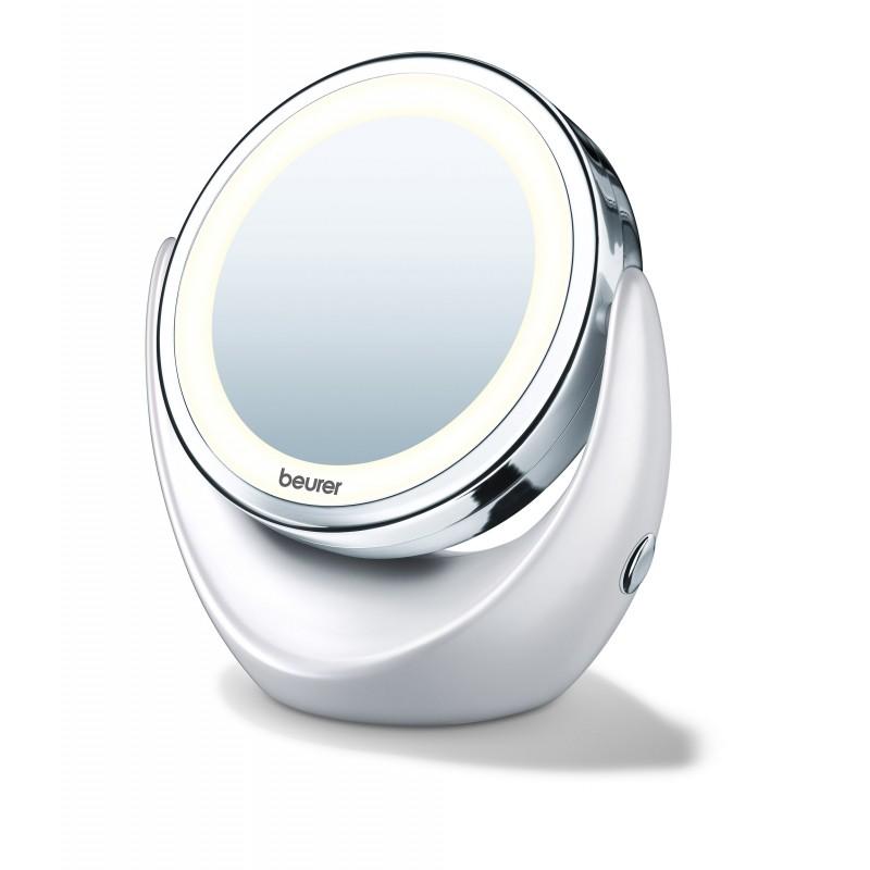 miroir grossissant lumineux beurer bs 49 medica services fr. Black Bedroom Furniture Sets. Home Design Ideas