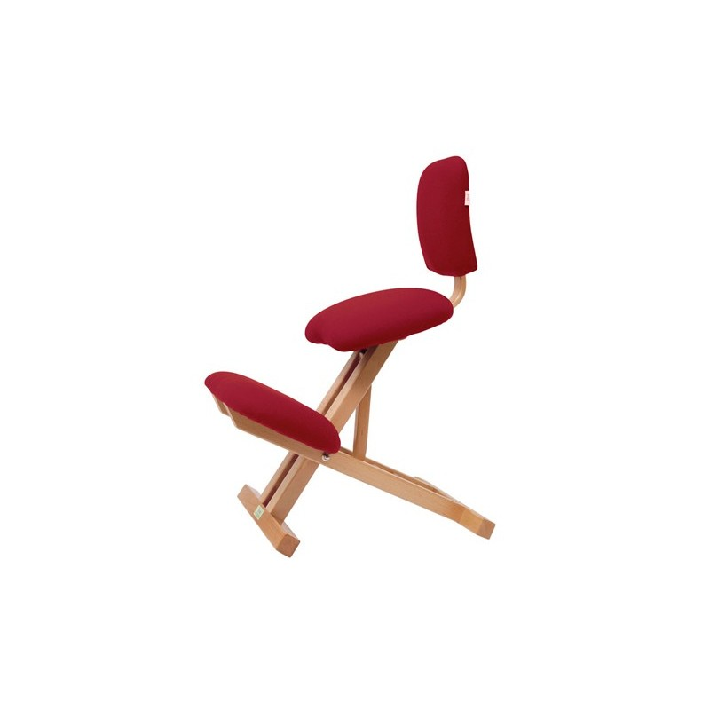 Chaise ergonomique pliable avec dossier s2105 medica for Chaise ergonomique