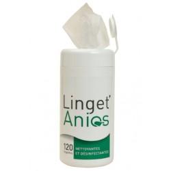 Linget'anios - Boite de 120 lingettes de 140x190mm