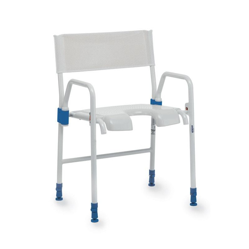 Chaise de douche mobile aquatec galaxy invacare materiel medical materiel medical http - Chaise de douche aquatec ...