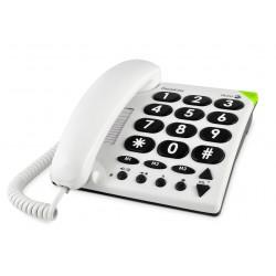 Téléphone filaire Doro à grosses touches Phone Easy 311c