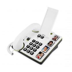 Téléphone filaire amplifié,touches photos MemoryPlus Doro 319i ph