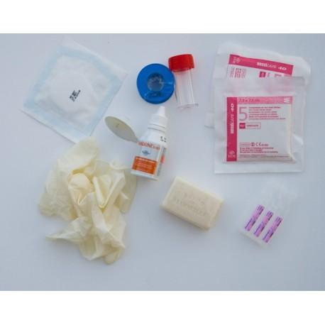 KIT AES - Kit pour accident avec exposition au sang ou aux liquides biologiques.