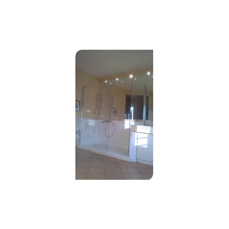 douche de plain pied idealdouche medica services fr. Black Bedroom Furniture Sets. Home Design Ideas