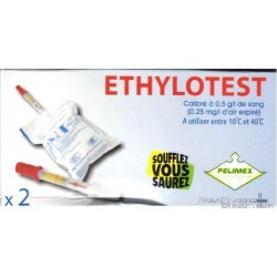 2 Ethylotests chimiques NF
