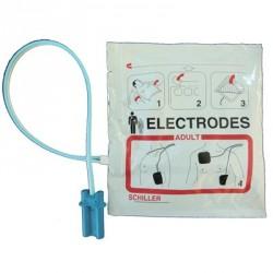 Electrodes collables adulte préconnectées
