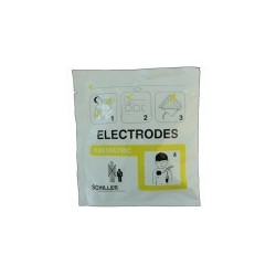 Electrodes collables (Enfant) pour Défibrillateur Fred Type Fred BI