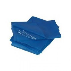 LOT DE 75 DRAP BLEU JETABLE AMBULANCE 50 g