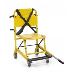 Chaises portoirs pliables - S 129 4 roues dont 2 pivotantes