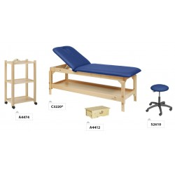 TABLE D'EXAMEN PACK MOBILIER BOIS ECOPOSTURAL PACK02