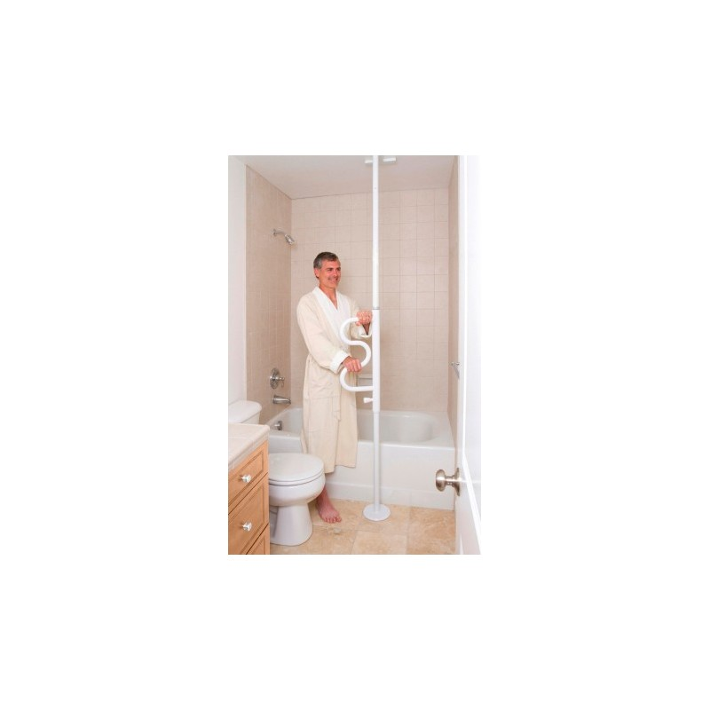 barre d 39 appui sol plafond medica services fr. Black Bedroom Furniture Sets. Home Design Ideas