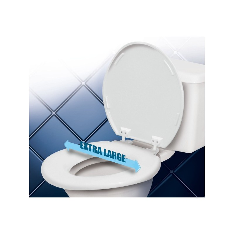 Abattant wc extra large medica services fr - Abattant wc taille non standard ...