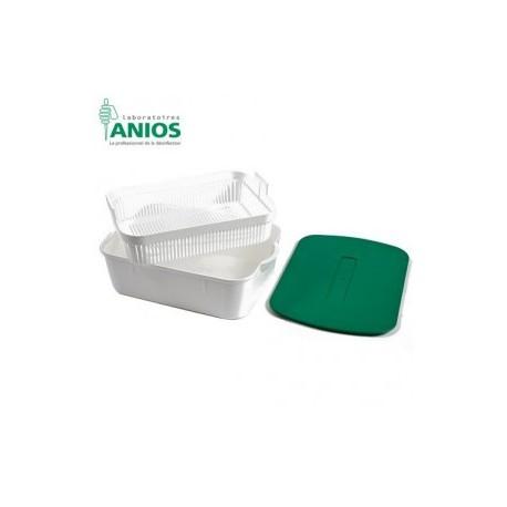 INSTRUBACS Bac de 10 litres vol utile 4 l - Anios