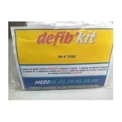 Défib'kit pour optimiser l'utilisation des DEA