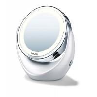 Miroir cosmétique, miroir loupe, loupe, miroir éclairé